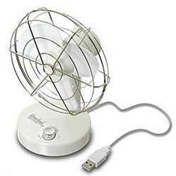 Oscillating USB Fan